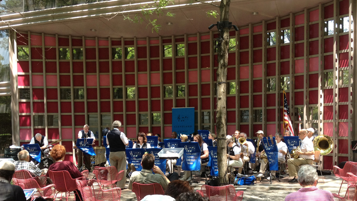Independence Day Concert, Cleveland Clinic Concert Band at the Cleveland Public Library