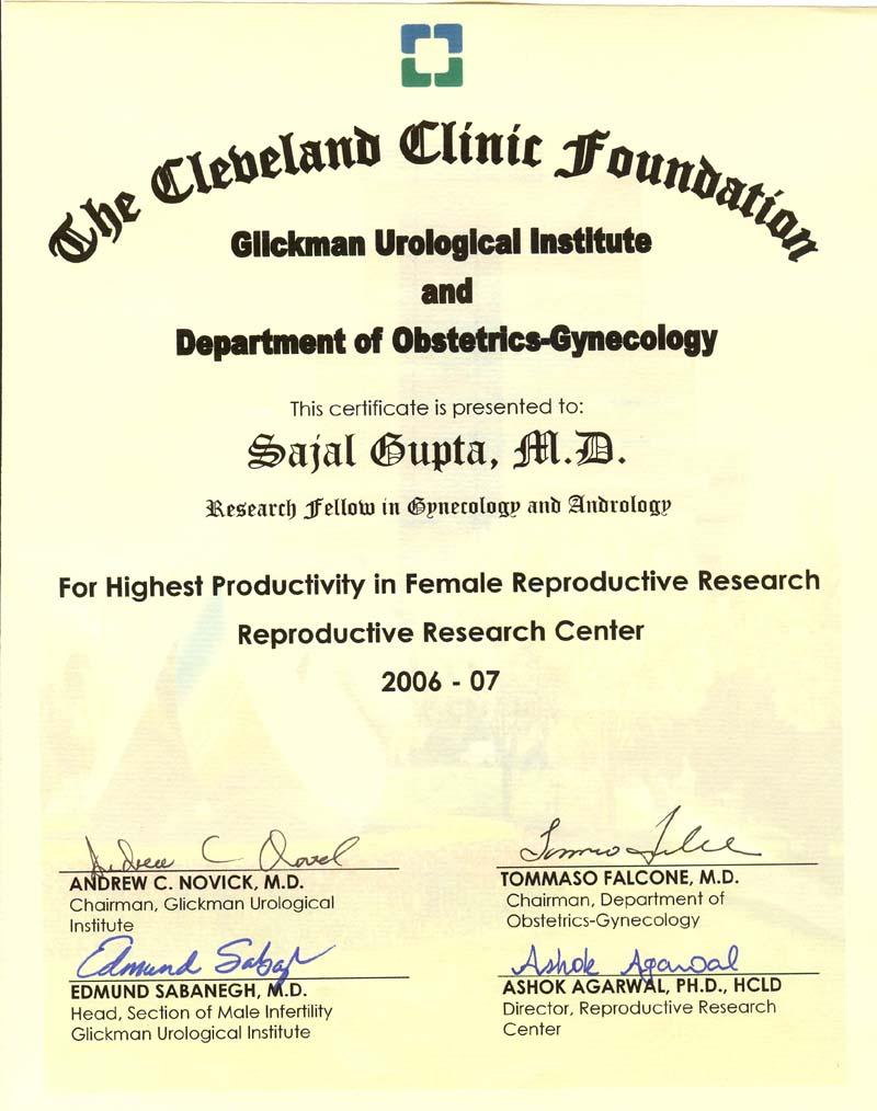 infertility research paper